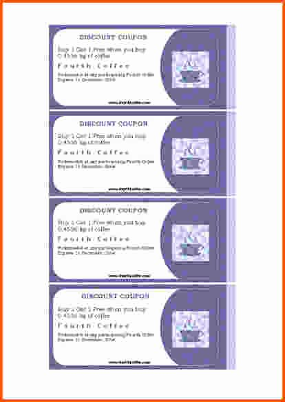 Free Coupon Template Word Lovely 7 Microsoft Word Coupon Template