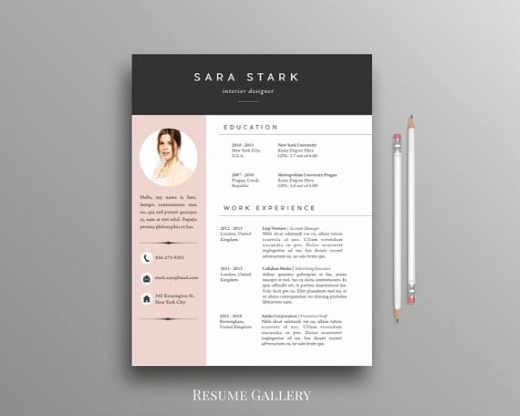 Free Creative Resume Templates Word Awesome Best 25 English Cv Template Ideas On Pinterest