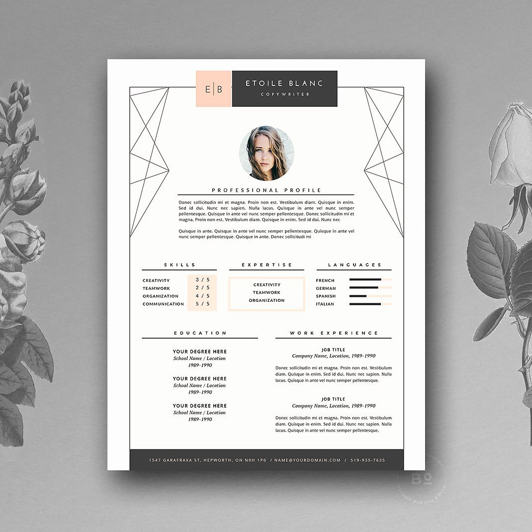 Free Creative Resume Templates Word Beautiful Creative Resume Template 2019 List Of 10 Creative Resume