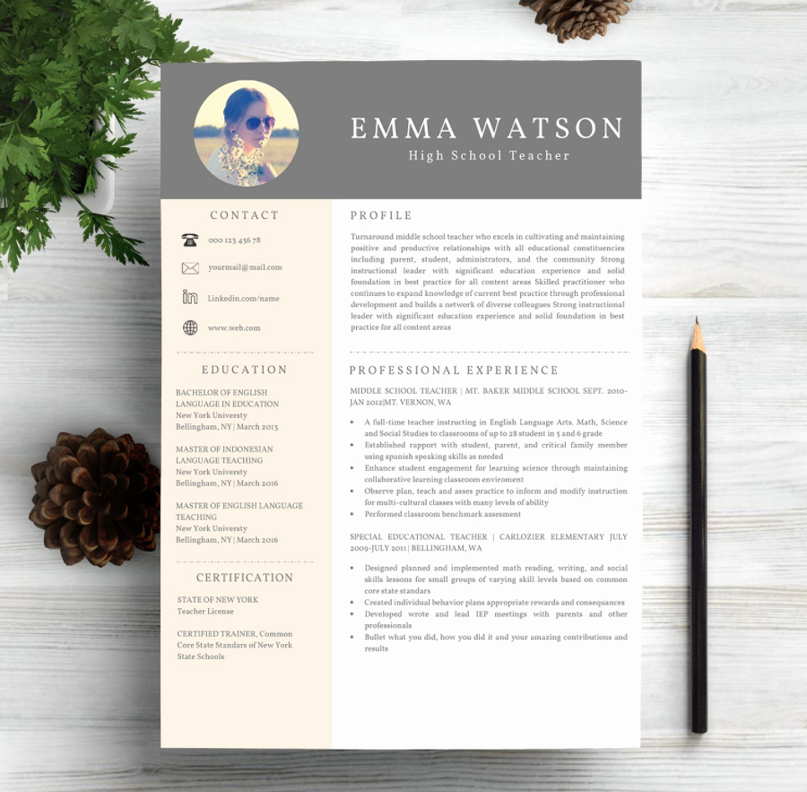 Free Creative Resume Templates Word Best Of 40 Free Printable Resume Templates 2019 to Get A Dream Job