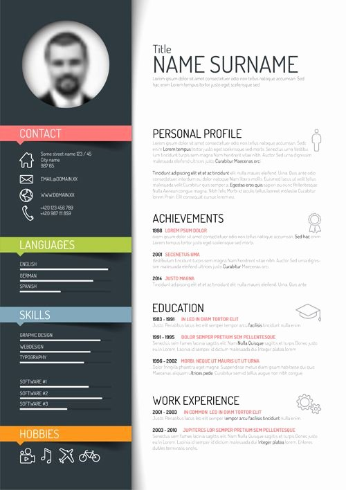 Free Creative Resume Templates Word Lovely Related to Design Multimedia Print Education School Vision