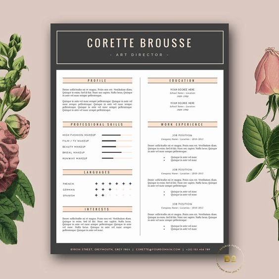 Free Creative Resume Templates Word Luxury Creative Resume Template