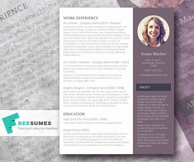 Free Creative Resume Templates Word Luxury Free Creative Resume Templates Word