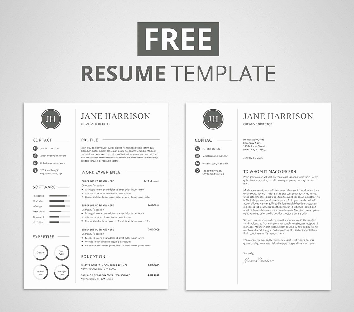 Free Creative Resume Templates Word New Pin On Employment
