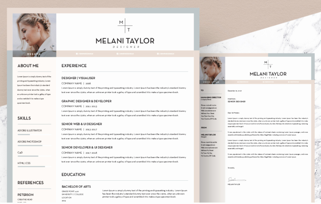 Free Creative Resume Templates Word New the Best Free Creative Resume Templates Of 2019