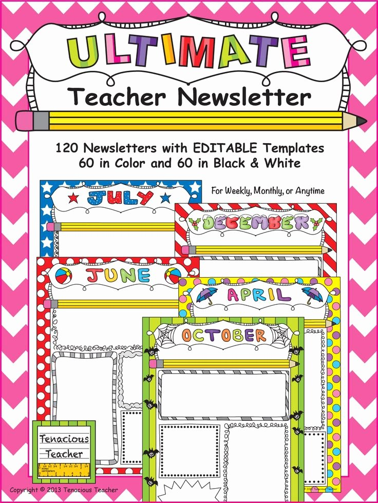 Free Editable Newsletter Templates Awesome 17 Best Images About Newsletter Templates On Pinterest