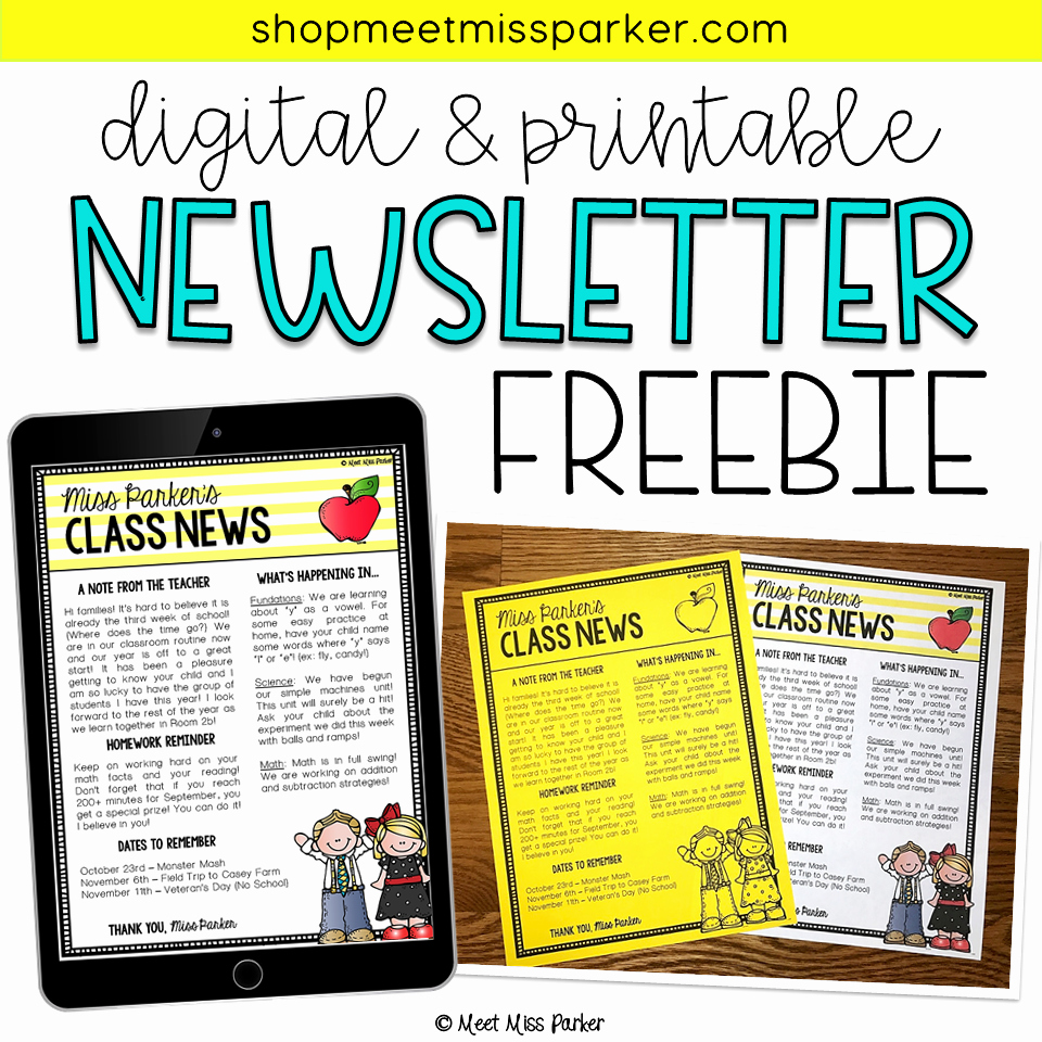 Free Editable Newsletter Templates Best Of Free Editable Newsletter Templates for Word