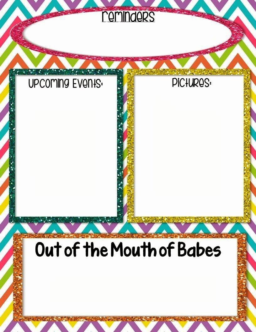 Free Editable Newsletter Templates Fresh Free Editable Newsletter to Be Sent Home to Parents Via