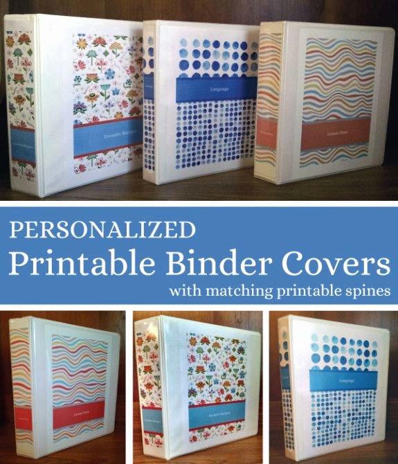 Free Editable Printable Binder Covers Best Of 25 Best Ideas About Binder Covers Free On Pinterest
