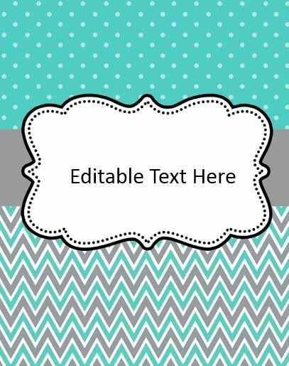 Free Editable Printable Binder Covers Elegant Free Binder Cover Templates