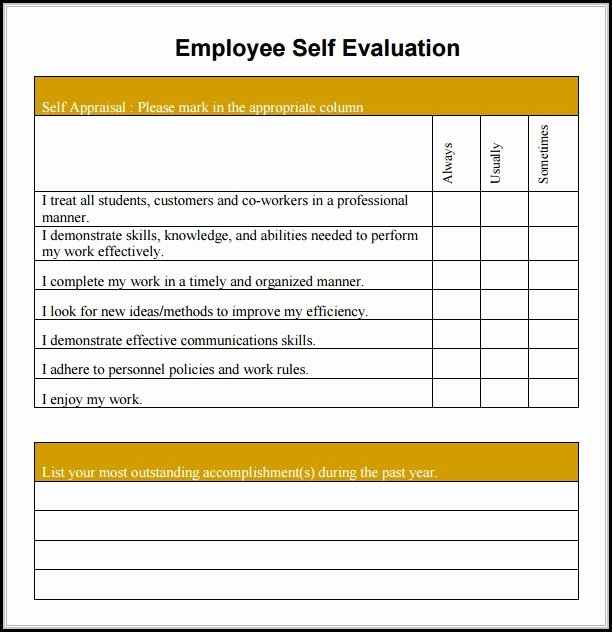 Free Employee Evaluation forms Printable Luxury Free Employee Evaluation form Template Word form