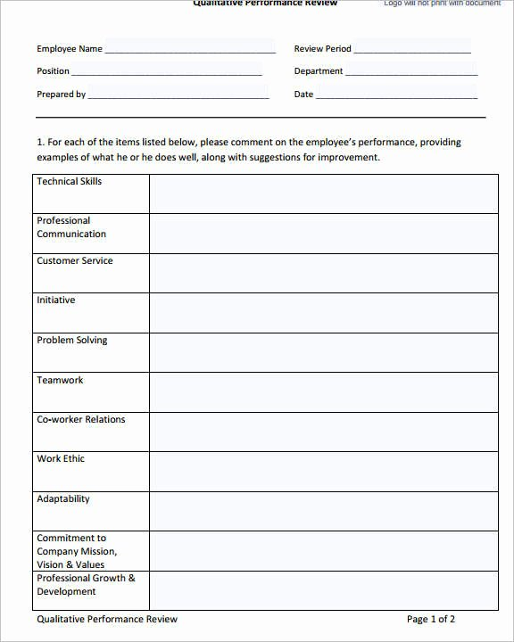 Free Employee Evaluation forms Printable New 29 Of Performance Evaluation Template Excel