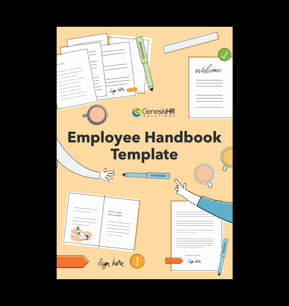 Free Employee Handbook Template Best Of Peo Resources & Guides