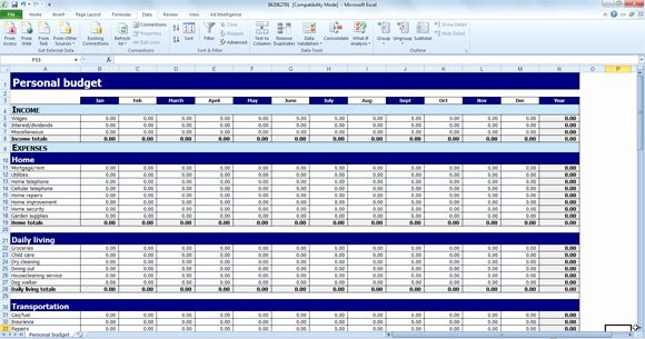 Free Excel Budget Template Best Of Free Personal Bud Template for Excel