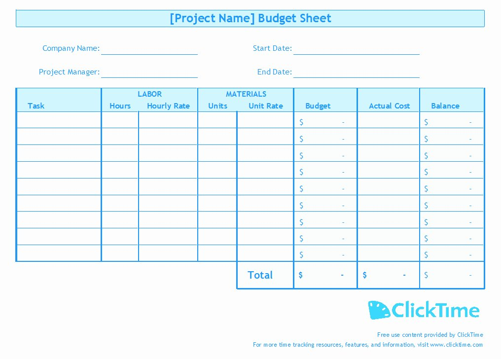 Free Excel Budget Template Inspirational Business Bud Template