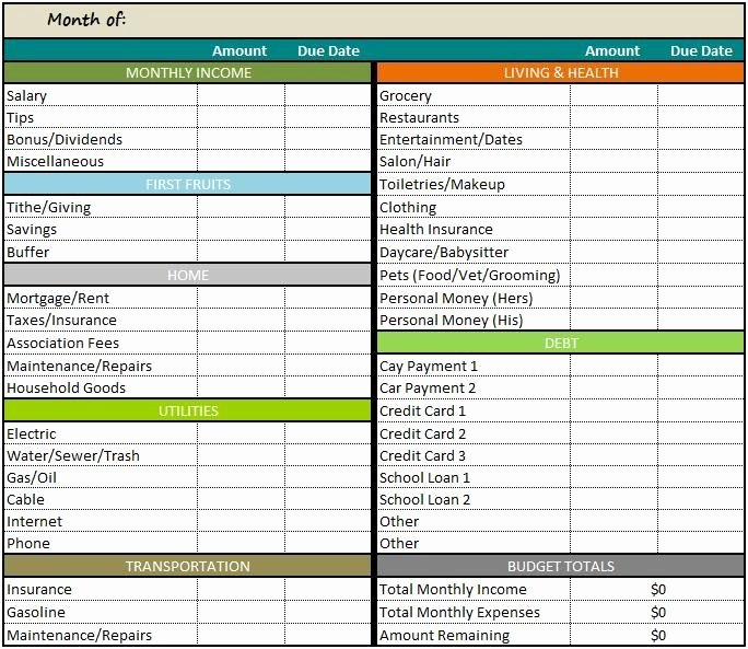 Free Excel Budget Template Unique Great Bud Ing Website House Things