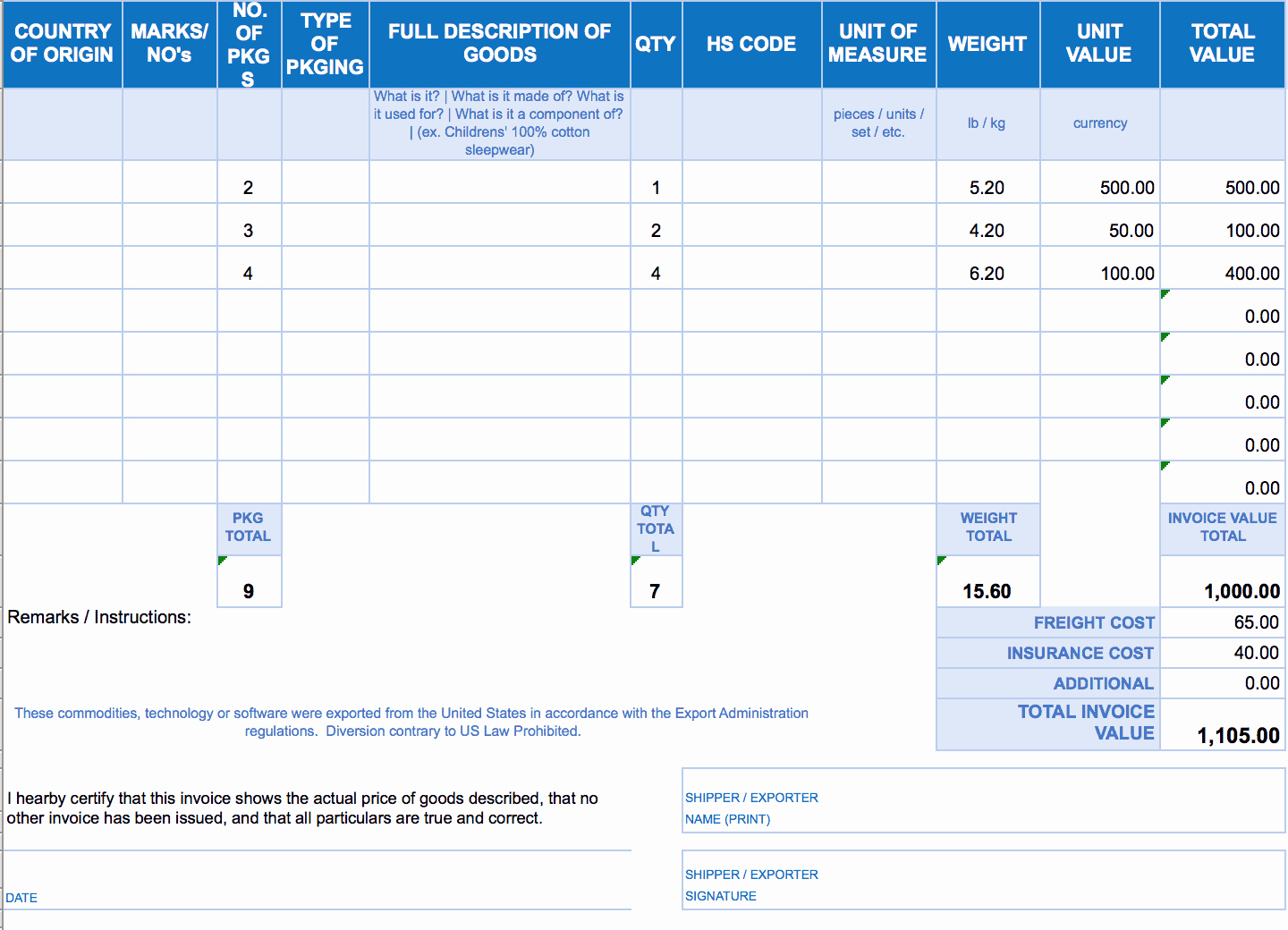 Free Excel Invoice Template Luxury Free Excel Invoice Templates Smartsheet