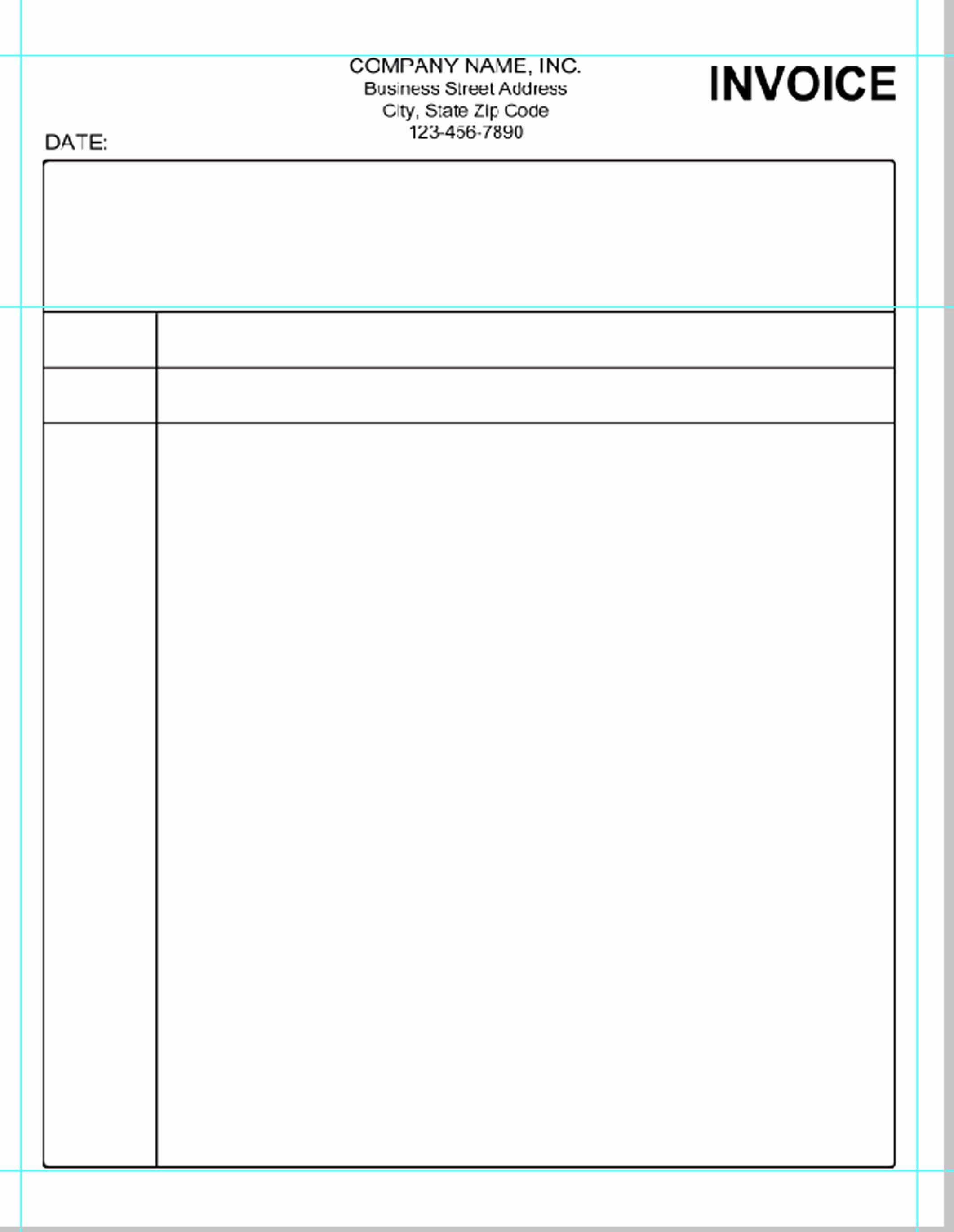 Free Excel Invoice Template Unique Simple Invoice Template Pdf