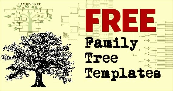 Free Family Tree Template Excel Unique Free Family Tree Template Printables 247moms
