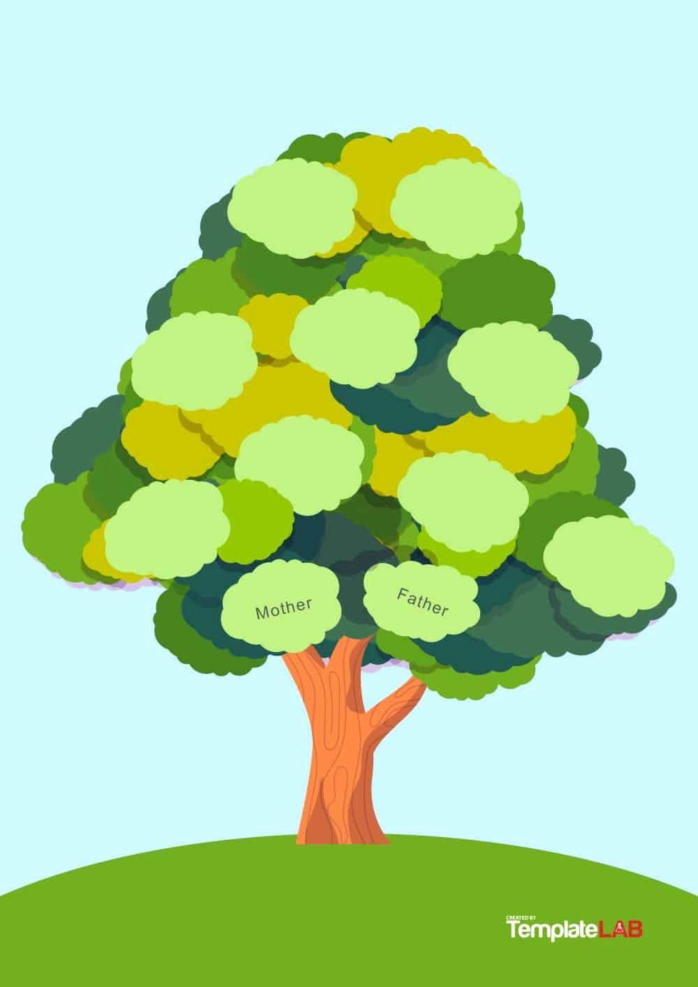 Free Family Tree Template Word Beautiful 50 Free Family Tree Templates Word Excel Pdf
