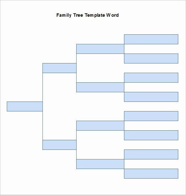 Free Family Tree Template Word Best Of Free Family Tree Template Word
