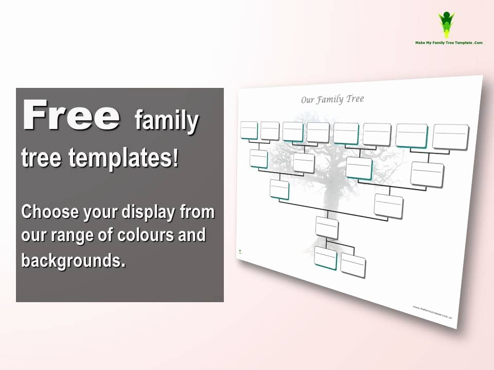 Free Family Tree Template Word Inspirational Free Editable Family Tree Template Word