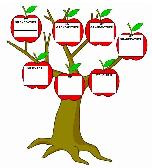 Free Family Tree Template Word Lovely 9 Free Family Tree Templates