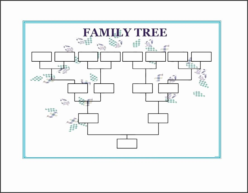 Free Family Tree Template Word New 10 Family Tree Word Template Sampletemplatess