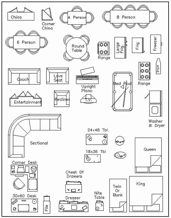 Free Floor Plan Template Awesome Free Printable Furniture Templates
