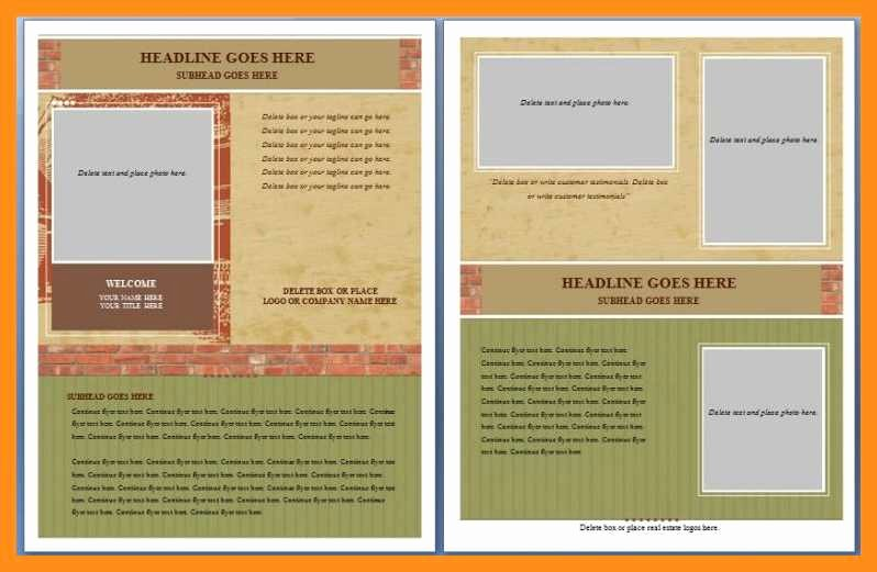 Free Flyer Templates for Word Awesome 12 13 Microsoft Word Handout Templates