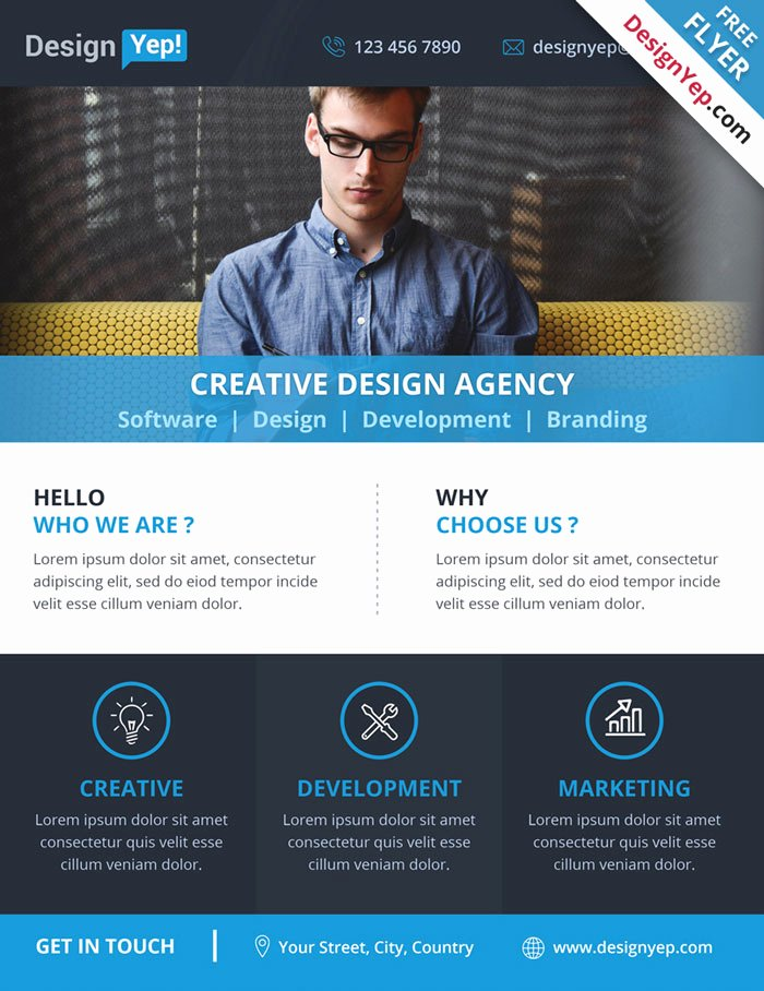 Free Flyers Templates Downloads Awesome 32 Free Business Flyer Templates Psd for Download Designyep