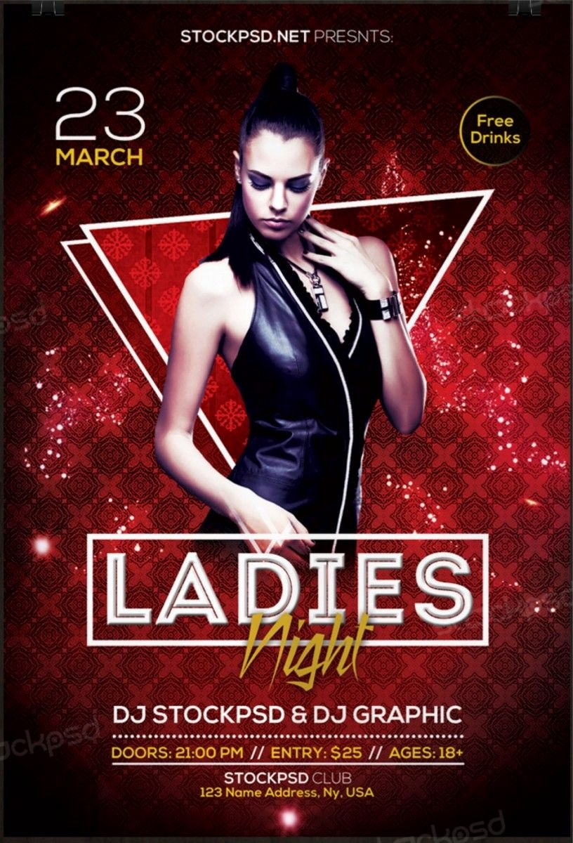 Free Flyers Templates Downloads Best Of La S Night 2017 – Download Free Psd Flyer Template