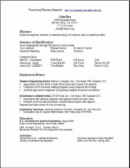 Free Functional Resume Template Best Of Pin by Monica Philosophergurl On Scannable Resumes