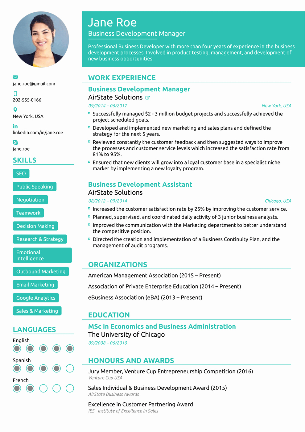 Free Functional Resume Template Fresh 2018 Professional Resume Templates as they Should Be [8 ]