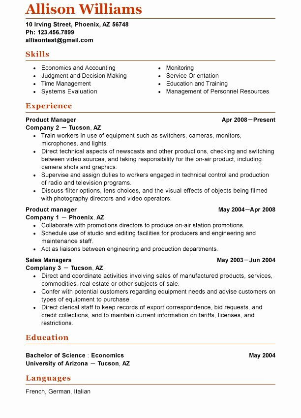 Free Functional Resume Template Lovely Pin by Functional Resume Template Online On Functional