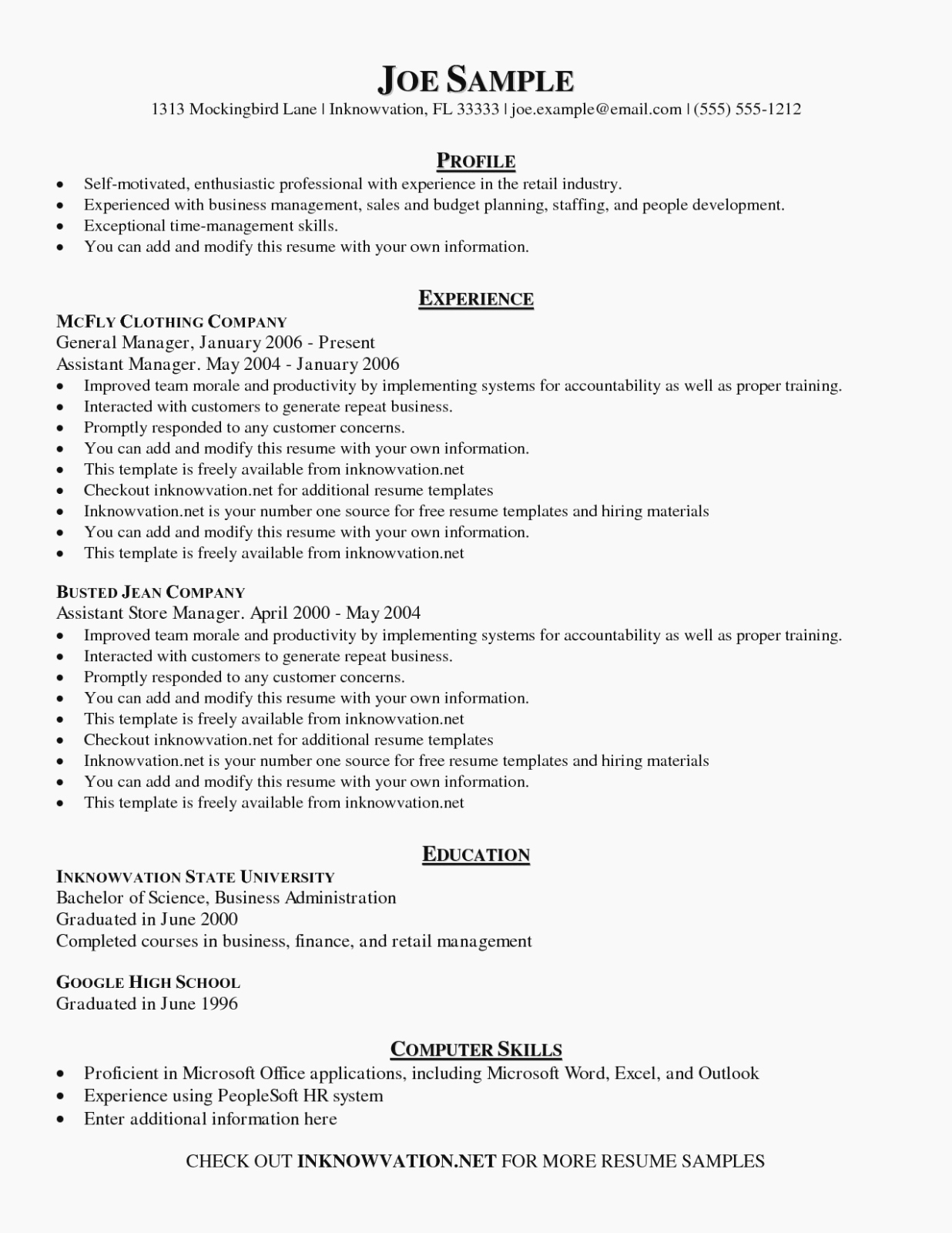 Free Functional Resume Template New 14 Reasons You Should Fall