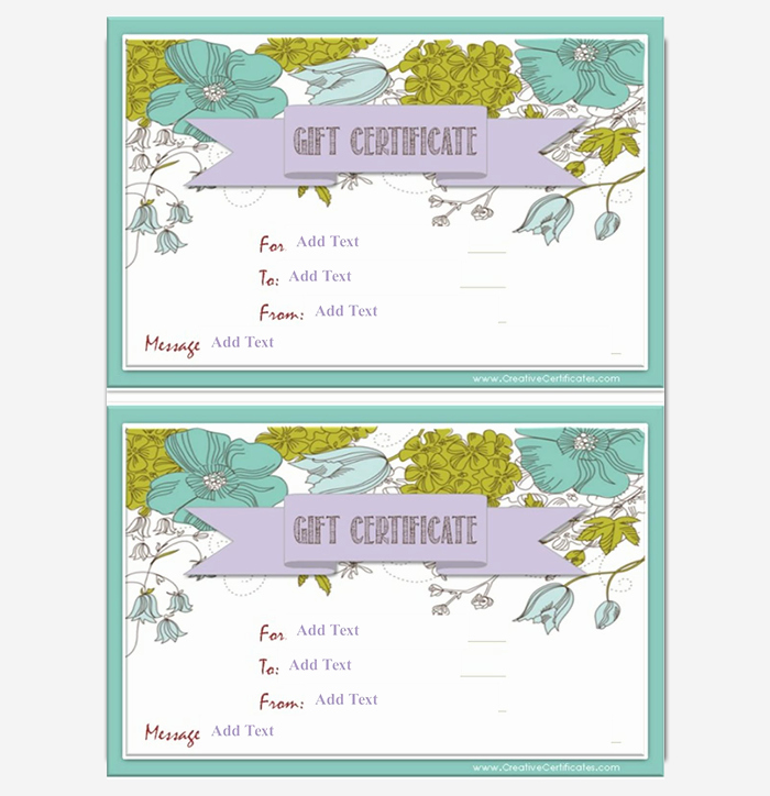 Free Gift Certificate Template Word Awesome 44 Free Printable Gift Certificate Templates for Word & Pdf