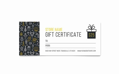 Free Gift Certificate Template Word Awesome Free Gift Certificate Template Download Word & Publisher