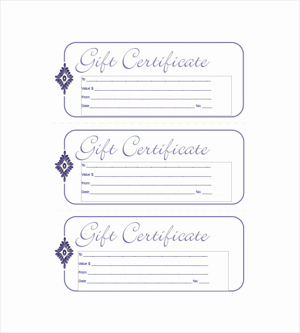 Free Gift Certificate Template Word Beautiful 19 Business Gift Certificate Templates Word Psd Ai