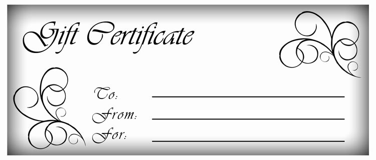 Free Gift Certificate Template Word Best Of 18 Gift Certificate Templates Excel Pdf formats