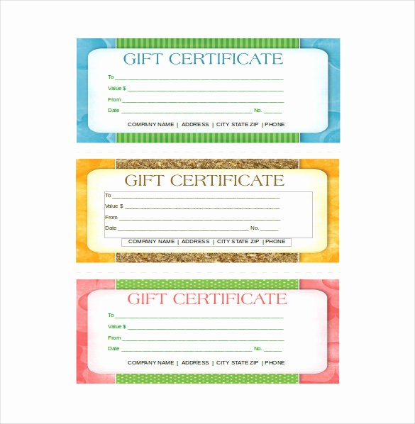Free Gift Certificate Template Word Lovely 19 Business Gift Certificate Templates Word Psd Ai