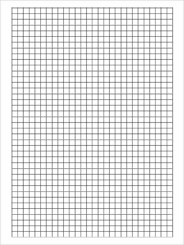 Free Graph Paper Template Awesome Free 9 Printable Blank Graph Paper Templates In Pdf