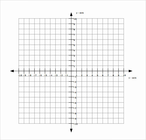 Free Graph Paper Template New 9 Free Graph Paper Templates Pdf