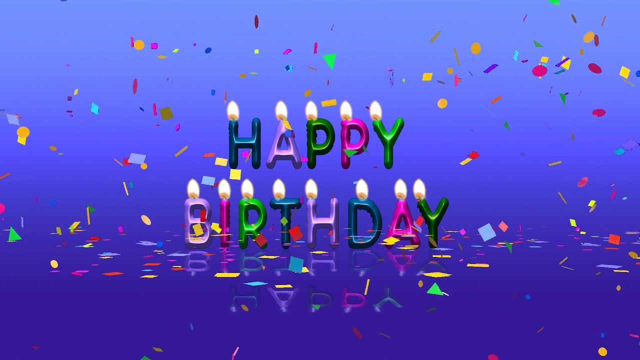 Free Happy Birthday Picture Fresh Colorful Happy Birthday Animation Video Free Download