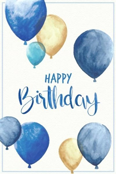 Free Happy Birthday Picture New Happy Birthday Greeting O K for Man Blue and Gold