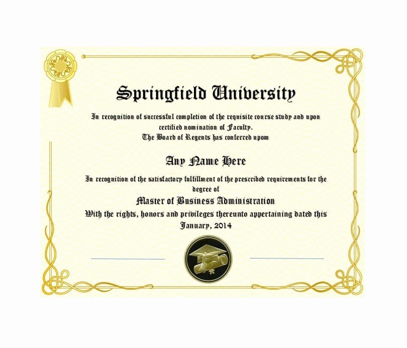 Free High School Diploma Templates Best Of 30 Real & Fake Diploma Templates High School College