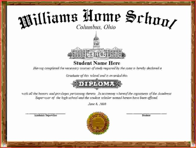 Free High School Diploma Templates Lovely 25 High School Diploma Templates Free Download
