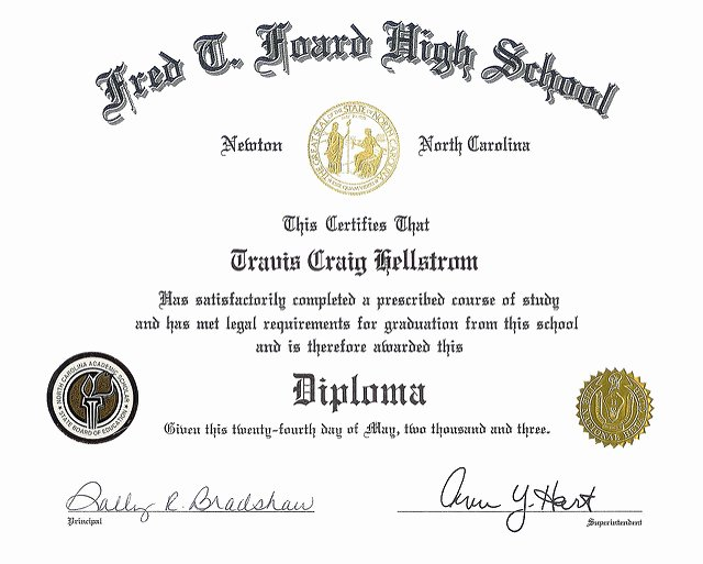 Free High School Diploma Templates Lovely 50 Free High School Diploma Template Printable