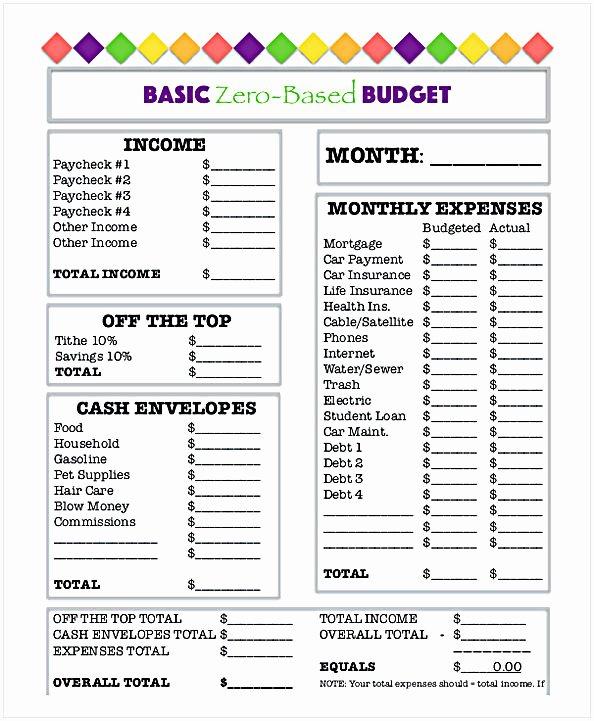 Free Household Budget Worksheet Pdf Awesome Bud Worksheet Pdf