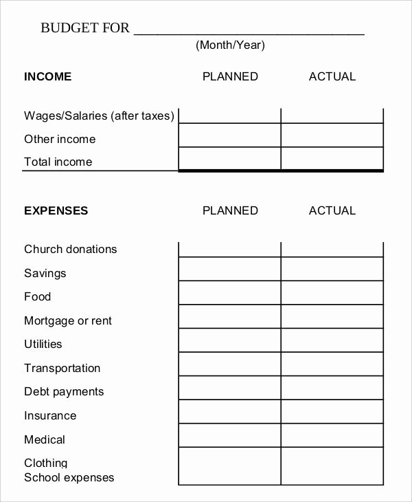 Free Household Budget Worksheet Pdf Unique Pin On Excel Templates